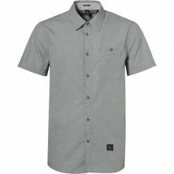 LM THE RIDGE S/SLV SHIRT GREEN
