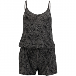 LW PAISLEY PLAYSUIT