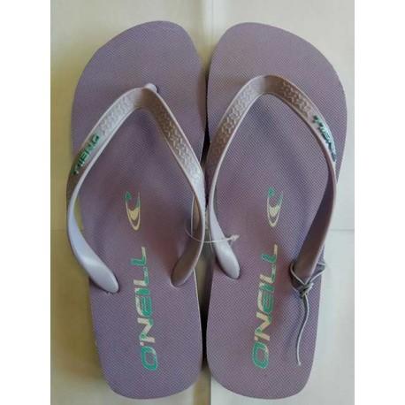 Purple flip flops - size 39,40