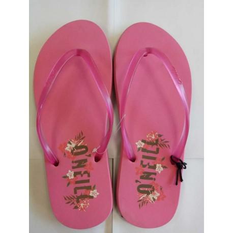 Pink flip flops - size 37