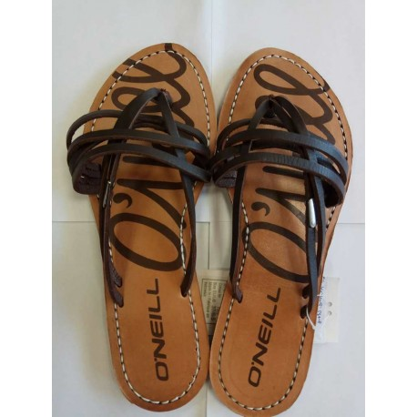Brown sandals - size 37