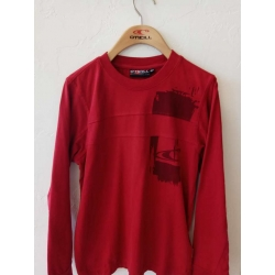 JR Red l/slv top - size 152