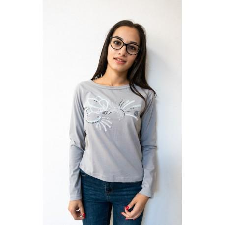 Flower blouse - size S,M