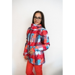 PW red snow jacket - size S,L