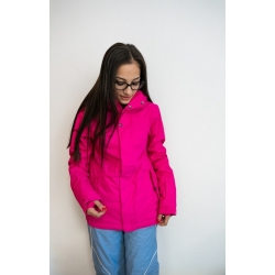Pink snow jacket - size XS