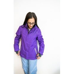 Purple snow jacket - size S