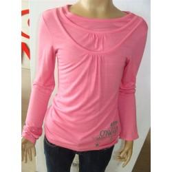 Pink l/slv top