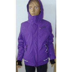 Purple snow jacket