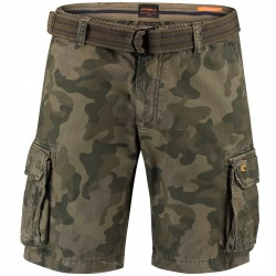 Moro Belted Shorts