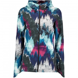 PW MOUNTAIN PRINT SOFTSHELL