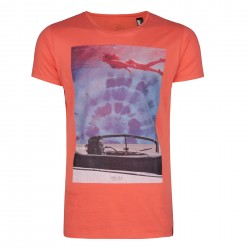 LM DREAMER T-SHIRT CORAL - SIZE XXL