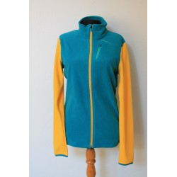 PW BLUE/YELLOW FLEECE SIZE M